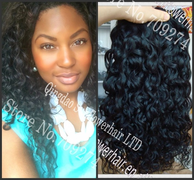 Malaysian Hair Bundles Curly 10a Loose Baby Beyonce Ocean Wave Water Spanish