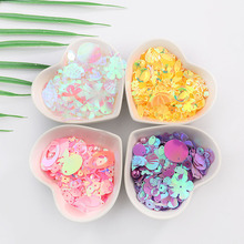 10g DIY Apparel Sewing & Sequins Fabric with Pearls Glass Beads For Craft Mixed Flower Stars Shell Leaf Shapes Lentejuelas