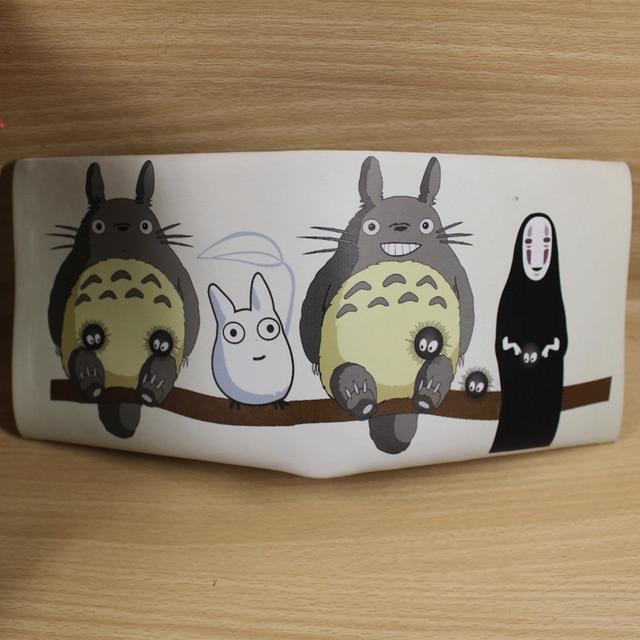 Colorful Janpanese Cartoon Wallet ONE PIECE/Ninjie Turtles/Totoro/Black Butler/Fairy Tail/Conan/Tokyo Ghou Zipper Coin Purse Kids Wallets