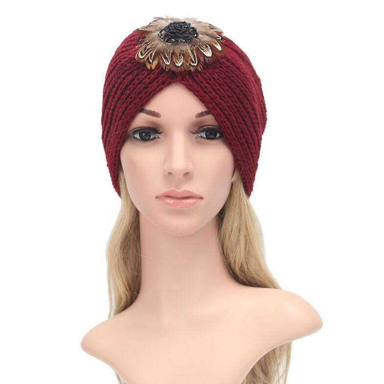 2016 New Fashion women winter warm hats India cap for women Turban hats women's head wrap headwear warm hats Beanies pastoralism and agriculture pennar basin india