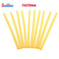 1.5KG 1.1mmx270mm yellow Hot Melt Glue Sticks Plastic Sticks for Glue Gun PDR KING Paintless Dent Repair Auxiliary Tools