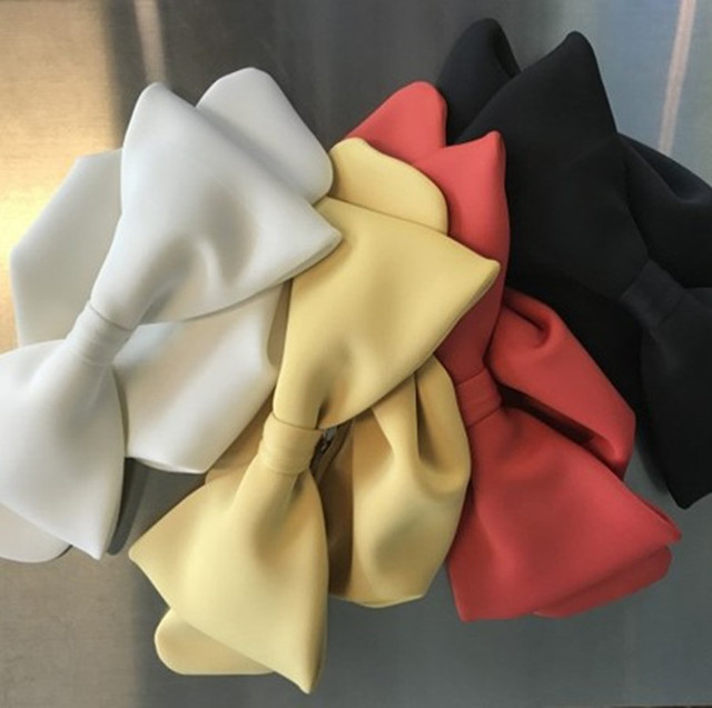 ANAWISHARE Designer's Bow Day Clutches Bag 5