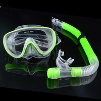 Excellent Snorkeling Gear Set Swimming Pool Diving Equipment Anti Fog Goggles Scuba Mask Snorkel Glasses 30