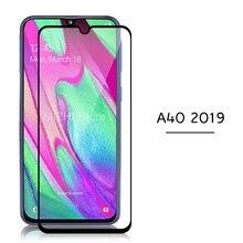Full Dành Cho Samsung A40 2019 Tấm Bảo Vệ Màn Hình Cường Lực Glam Trên Cho Samsung Galaxy A40 A40s 40 40A A405f 5.9 Inch kính Phim