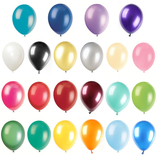 100 x Happy Birthday Balloons