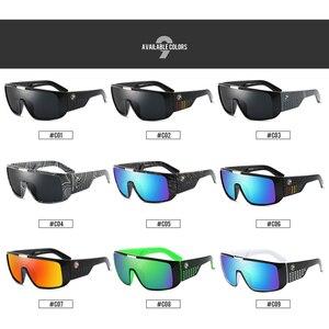 Image 2 - DUBERY Brand Design UV400 Sunglasses Mens Retro Male Goggle Colorful Sun Glasses For Men Fashion Mirror Shades Oversized Oculos