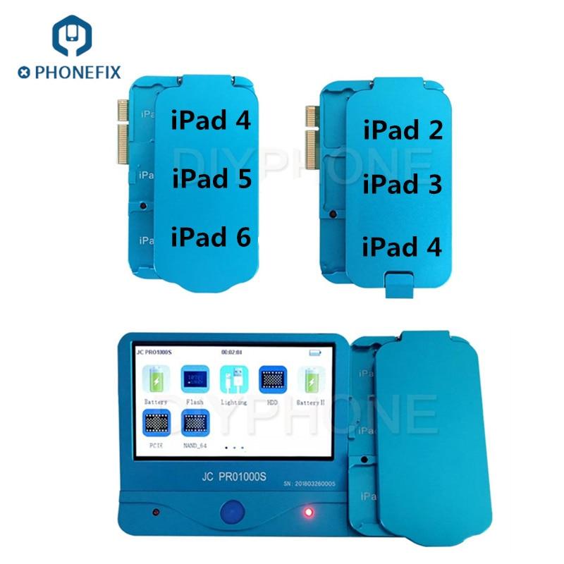 CORRECTIF TÉLÉPHONIQUE JC Pro1000S NAND PROGRAMMEUR SN Lire Ecrire Outil Non-retrait outil de réparation pour iPad 2/3/4 5 6 iPad Air 1 2 ICloud Supprimer