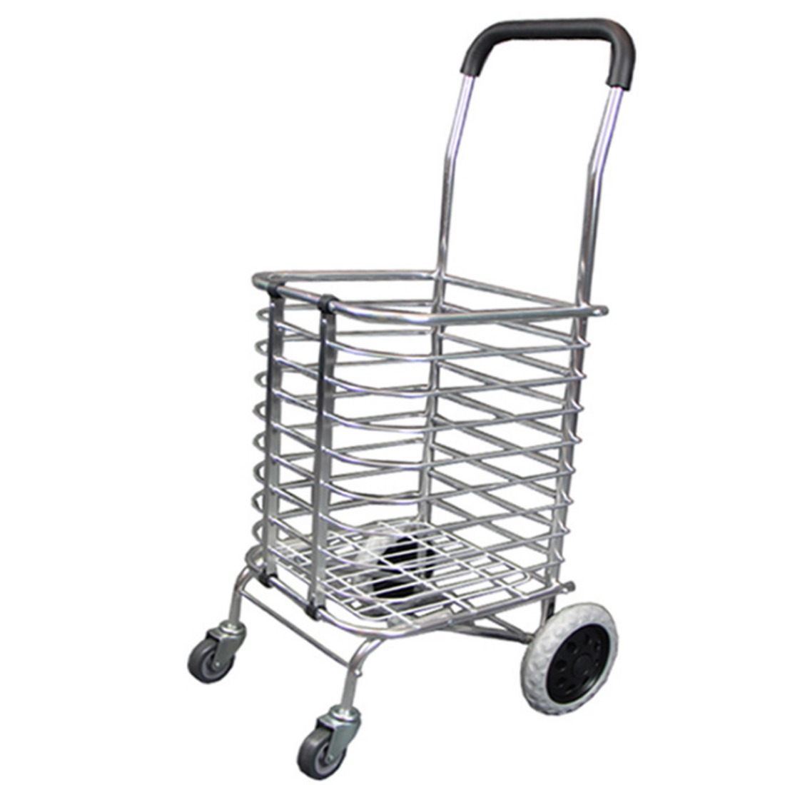 Free Shipping 36L Foldable Portable Trolley Aluminum Alloy Wheel Supermarket Cart Shopping Cart For Adult Shopping Home printed baby child supermarket trolley dining chair protection antibacterial safety travel portable shopping cart cushion