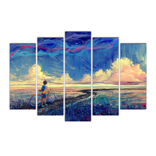 HD Prints Canvas Paintings 5 Pieces Posters Wall Art Pictures Home Decorative Living Room Framework