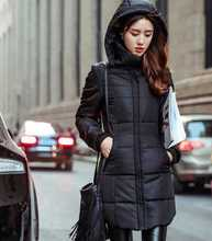 New Design Womens Winter Jackets And Coats Slim Women Long Solid Stand Collar Warm Down Jacket Plus Size 5XL 6XL A3946