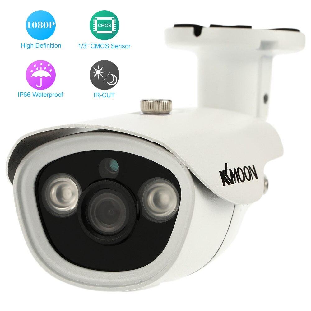 imágenes para KKmoon 2.0MP 1080 P AHD CCTV Cámara Al Aire Libre 1/3 ''3.6mm CMOS Cámara de Visión Nocturna Por INFRARROJOS Cámara de Seguridad A Prueba de agua Vigilancia de su casa