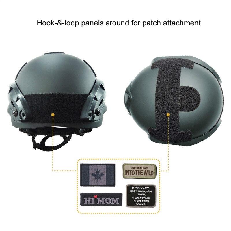 OneTigris Le Casque De La Version Mich 2002 Tactique Militaire en ABS pour Airsoft Paintball