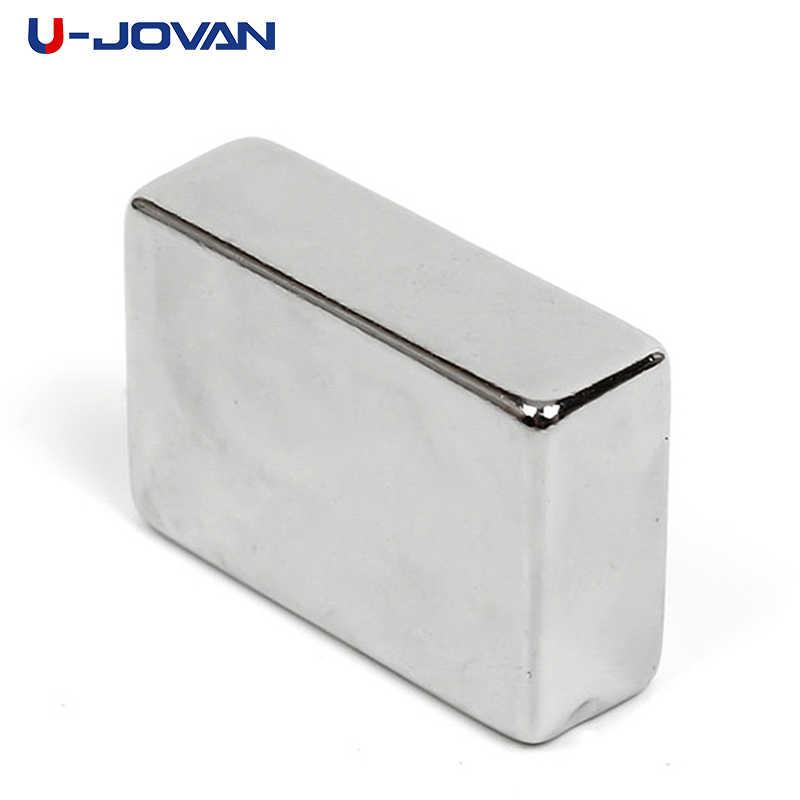 U-JOVAN 1pc 30x20x10mm n50 super forte terra rara ímã bloco poderoso neodímio ímã geladeira