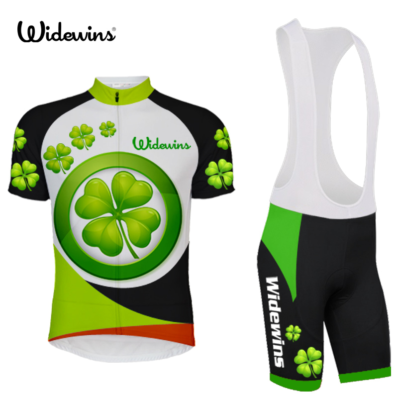 ᑐNueva hierba verde estilo ropa ciclismo Ciclismo Jersey ...