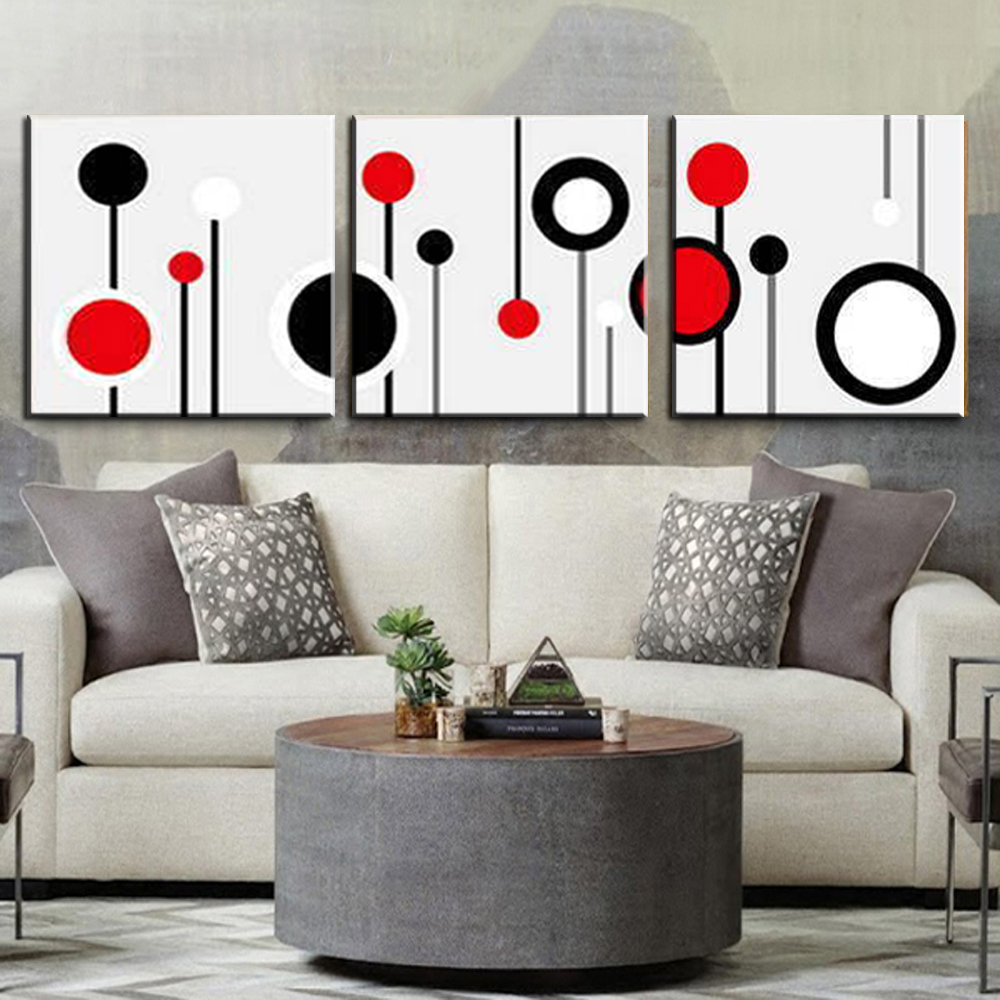 Modern Wall Paintings Living Room Aliexpresscom Buy 3 Piece Canvas Wall Art Wall Picture Modern