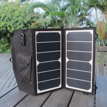 13W Ultra slim Highest Efficiency Solar Panel Portable Solar Charger Compatible with mobile phones eReaders All
