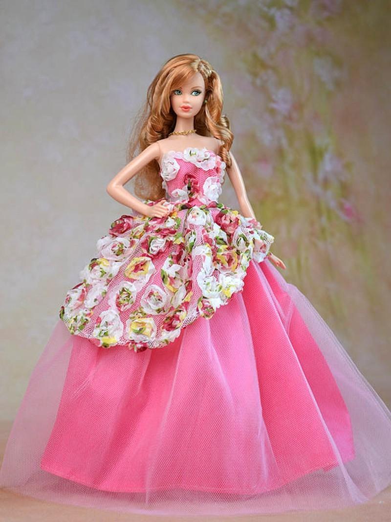 E Ting New Handmade Flower Princess Dress Party Clothes