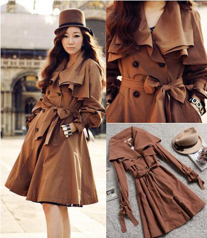 Aliexpress.com : Buy 2015 Spring Winter Girls Fashion Slim trench ...