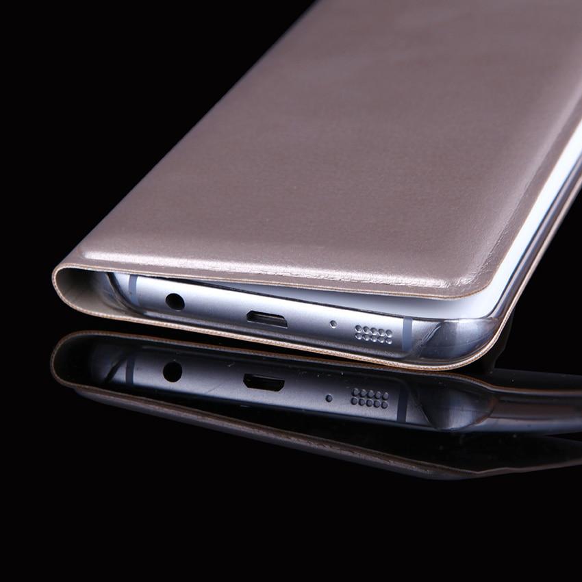 Λεπτή δερμάτινη θήκη πορτοφολιού με - Ανταλλακτικά και αξεσουάρ κινητών τηλεφώνων - Φωτογραφία 5