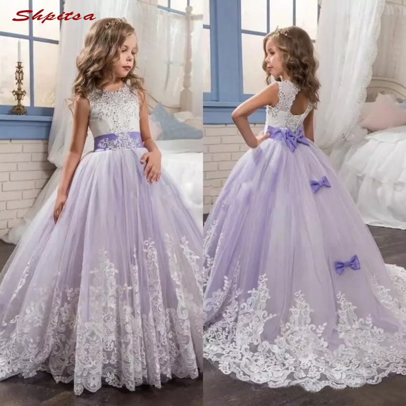 Lace   Flower     Girl     Dresses   for Party and Wedding Flowergirls   Girls   Pageant   Dress   First Communion   Dresses   for Little   Girls