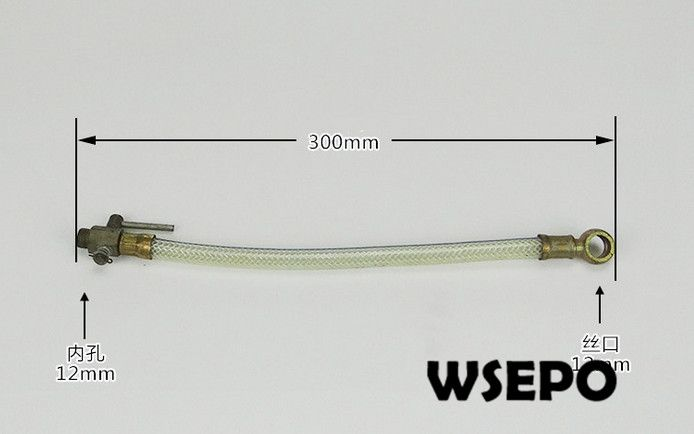 OEM Quality! Diesel Fuel Line for  ZS1100 4 Stroke Small Water Cooled Diesel Engine