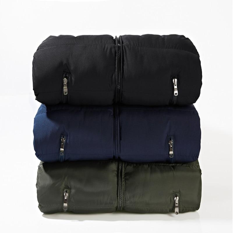 Image 5 - LOMAIYI M 6XL Mens Winter Vest Men Warm Thick Padded Vest Coat Male Sleeveless Jacket Mens Blue/Black Casual Down Vests BM255Vests & Waistcoats   -