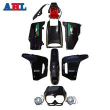 for Honda NX250 AX-1 AX1 AX 1 Sports Traverse Blue New ABS Plastic Fairing Cowl Bodywork With Head Light Taillight Lamps Kit Set