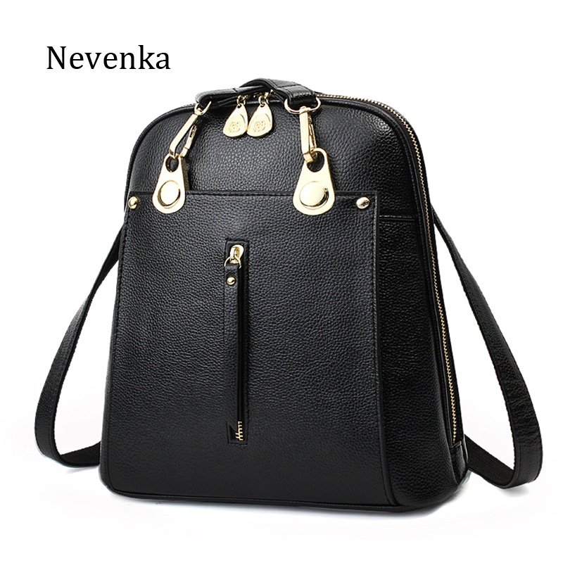 NEVENKA Women Fashion Backpack Female Handsome Rotro Backpacks Ms classic bags Lady Daily Shipping Shoulder Bag Girl School Bag feral cat square fashion women pvc backpack traveling shipping bags school girl female backpack free shipping
