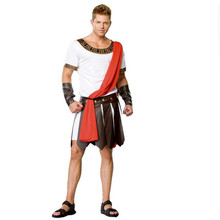 new Ancient Roma Masquerade Party Outfit Men Knight Julius Caesar Halloween Adult Cosplay