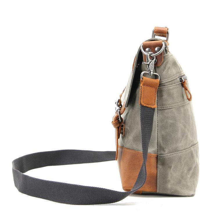 mens leather messenger bags uk