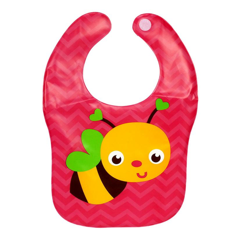 New Kids Child Translucent Plastic Soft Baby Waterproof Bibs EVA Suitable for 1-3 years baby feeding bibs