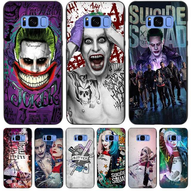 Harley Quinn Suicide Squad Black Case Cover Shell Coque for Samsung Galaxy  S3 S4 S5 Mini S6 S7 S8 Edge Plus S8+ 87f8f5d2f116