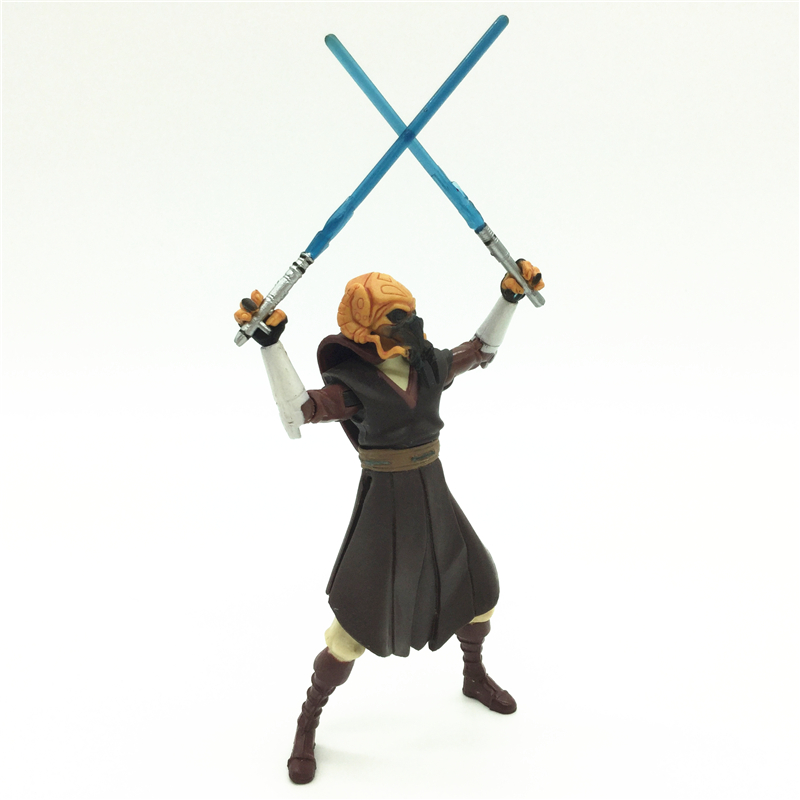 3.75'' Figures anime version Star War Jedi Plo Koon one piece figures model doll  Free shipping S011 4
