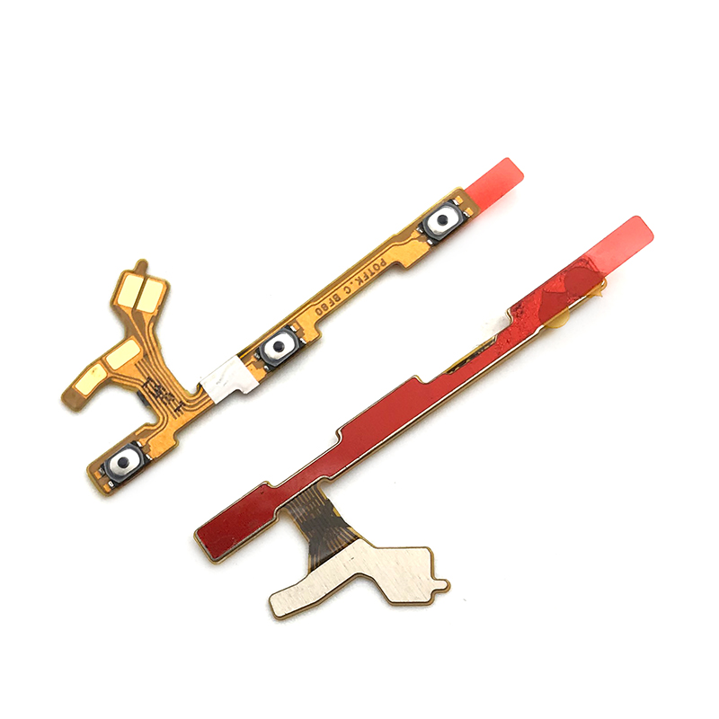 New For Huawei P Smart 2019 Power On Off Key Volume Side Button Flex Cable Replacement Parts