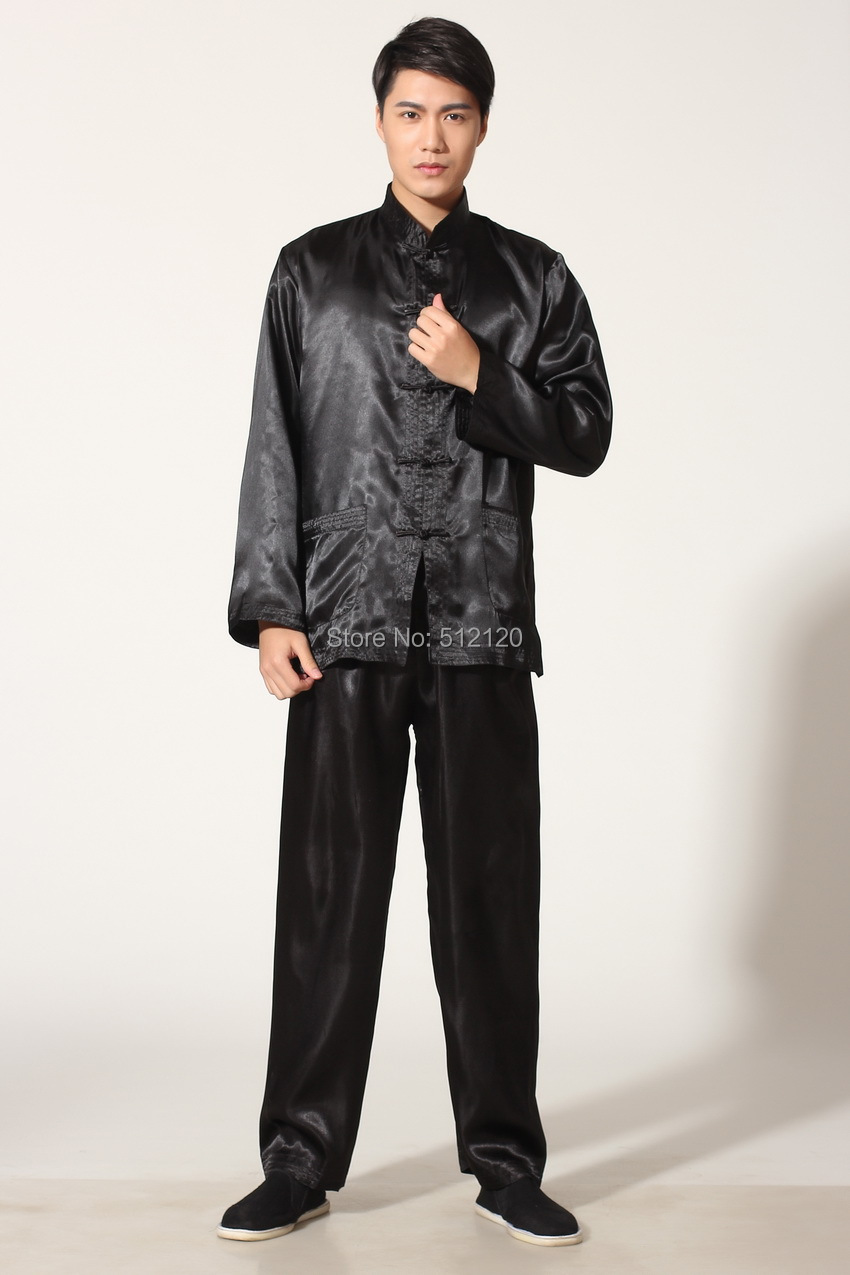 93be993c7 شنغهاي قصة سعر المصنع رجل الملابس أداء تاي تشي الملابس taijiquan العمل  ملابس الرجال الكونغفو دعوى 4 لون