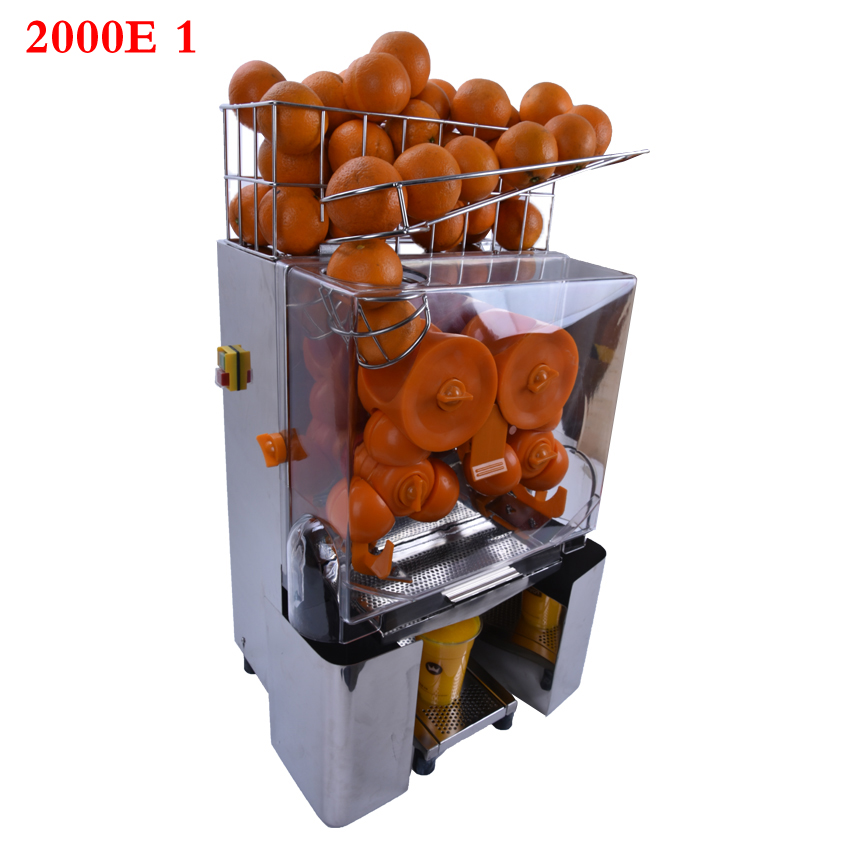 120W commercial orange stainless steel juicing machine orange juicer machine juice orange printing 220 v 110 v