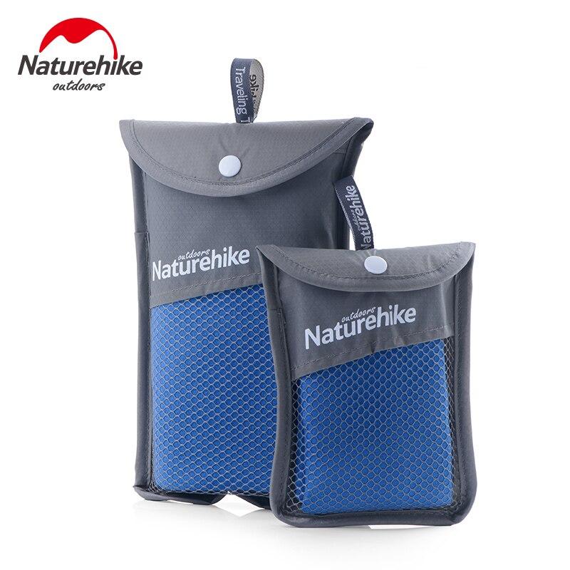 Naturehike microfiber swimmimg toalha 3 cores 80x40cm 130x73cm ultraleve ao ar livre absorvendo água rápida toalha de banho seco