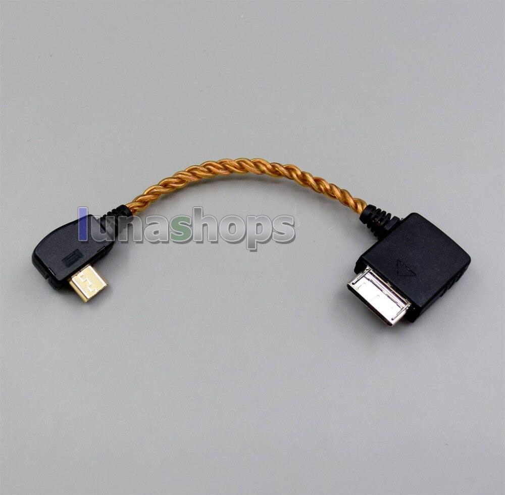 Adaptateur de convertisseur de câble d'amplificateur d'amplificateur d'écouteur pour SONY à OPPO HA2 données décoder le PORT WM au Micro LN005846
