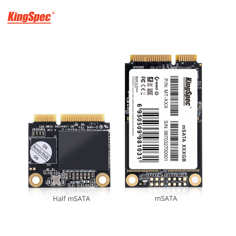 KingSpec 32GB 64GB SSD 256GB MSATA SSD 500GB 1TB Mini MSATA HDD Case To USB 3.0 HD Hard Drive Module For Tablet Desktop Laptop