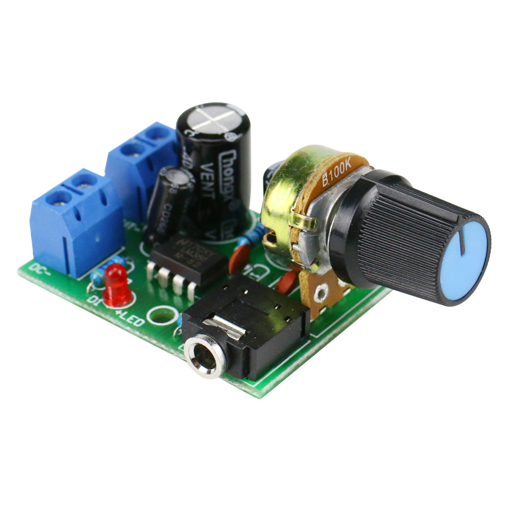 Ghxamp Lm386 10w Mono Amplifier Board Mini Audio Desktop Circuit Amplifiers Pc Speaker Diy Small Radio Boombox 35mm Dc3 12v In From Consumer