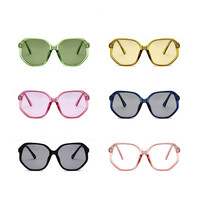 5a3cadbed2 Summer Styles Women Square Sunglasses Retro Candy Color Clear Green Yellow  Rose Oversize Shades Men. US $10.83. Ver Oferta. Gafas de sol ...
