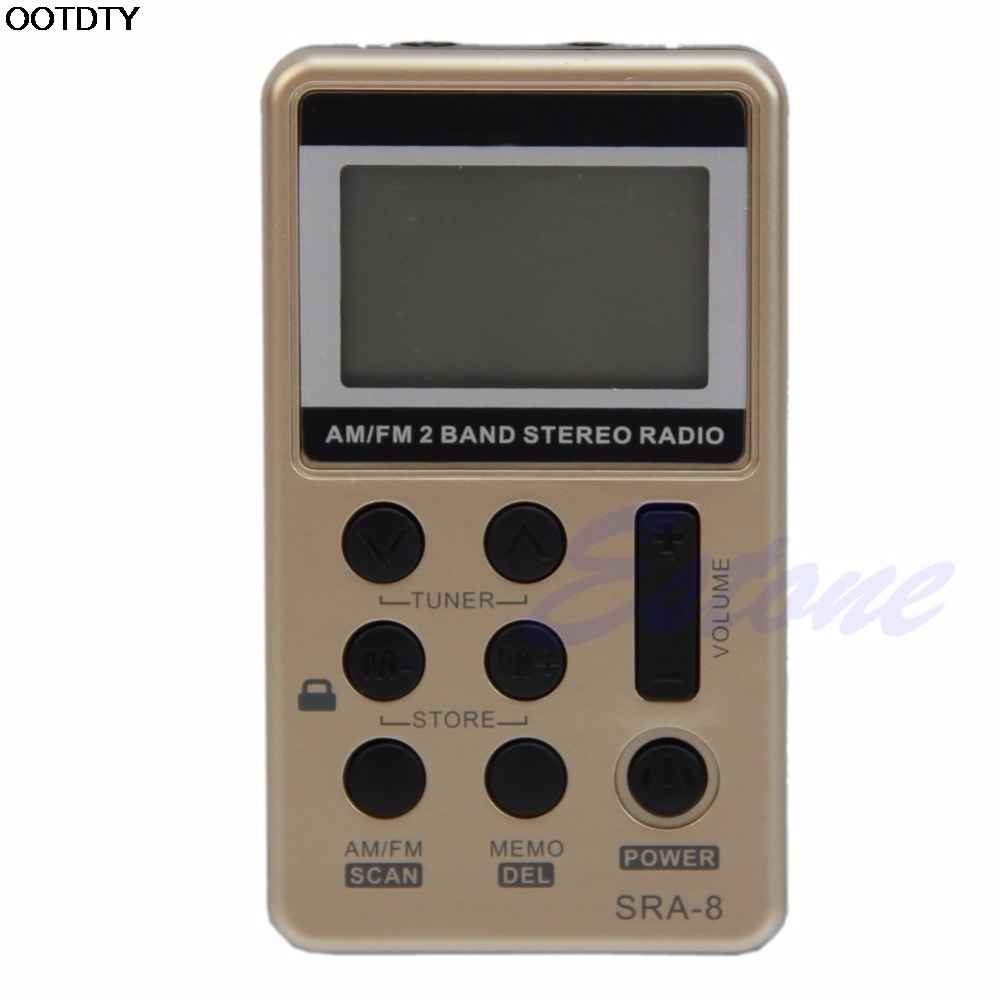 Unterhaltungselektronik Diszipliniert Mini Tragbare Am/fm 2 Band Digitales Tuning Stereo Radio Receiver Kopfhörer Dc 5 V-l060 Neue Heißer Delikatessen Von Allen Geliebt