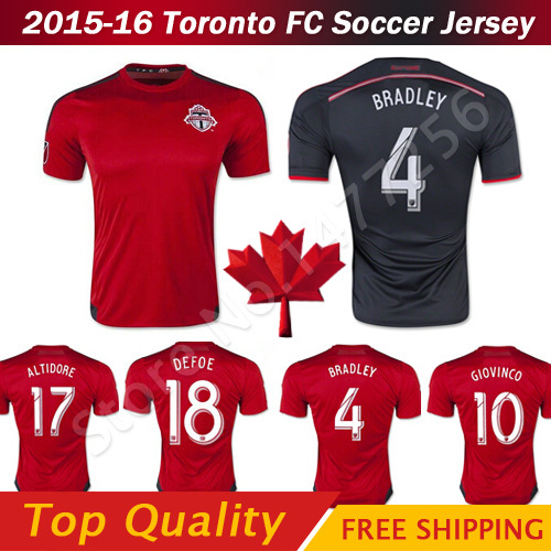 cheap for discount cfaa7 83263 Top! Toronto Soccer Jersey 2016 Toronto FC Jersey 15/16 ...
