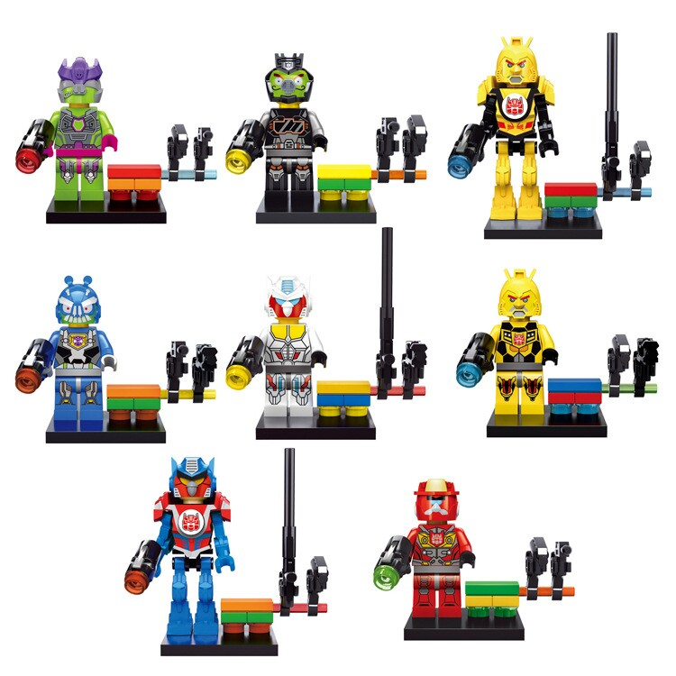NEW Transformation Super Military Walking Dead Ninja Go Turtles Police Characters Building Blocks Christma Gift Toy Lepine Brick viruses cell transformation and cancer 5