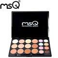 Msq profesional 20 colores de concealer palette colorido corrector fundación corrector mejor calidad