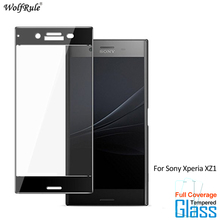 цена на For Glass Sony Xperia XZ1 Screen Protector Tempered Glass For Sony Xperia XZ1 Glass Full Phone Film For Sony XZ1 G8342