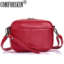 COMFORSKIN Brand Luxury Handbags Women Bags Designer Hot Sales Cowhide Leather Large Capacity Woman Messenger Bag Fashion Style