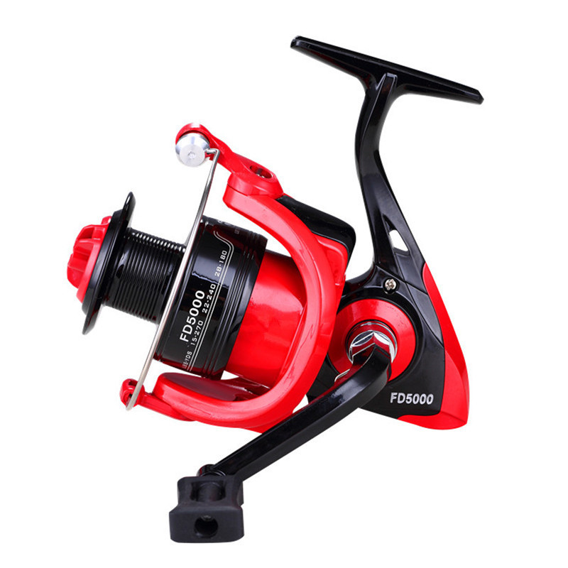 FD1000 6000 Casting Fishing Reel Metal Core Coil Fishing Wheel 5 0 1 4 7 1 Lure Fishing Tackle Rod Saltwater Fishing Reel Tool in Fishing Reels from Sports Entertainment