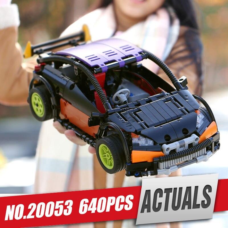 Лепин 20053 20053B техника серии хэтчбек Тип R Набор MOC-6604 строительные блоки кирпичи развивающие Legoinglys игрушка как подарки