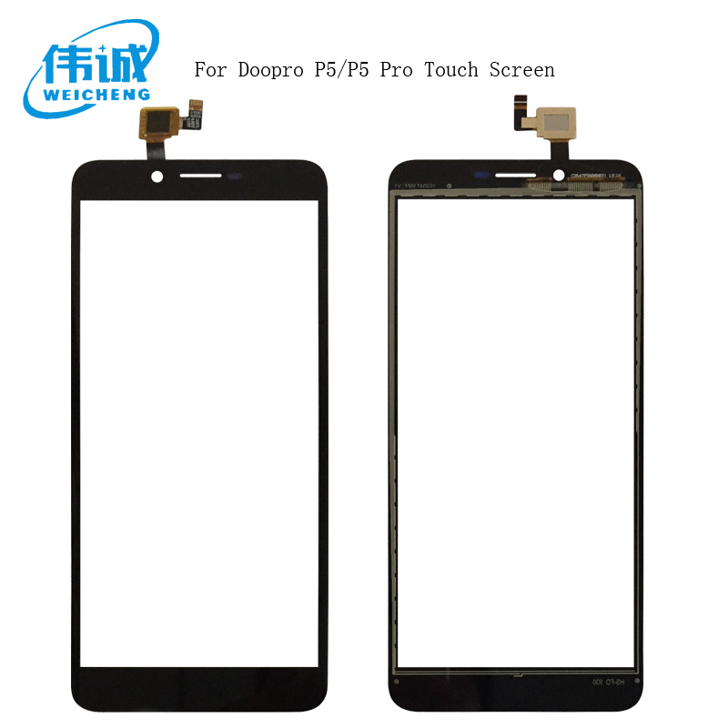 WEICHENG 5.5Black Touch Screen For Doopro P5/P5 Pro Perfect Repair Parts Touch Panel Sensor Glass Lens for P5 P5 Pro PhoneWEICHENG 5.5Black Touch Screen For Doopro P5/P5 Pro Perfect Repair Parts Touch Panel Sensor Glass Lens for P5 P5 Pro Phone